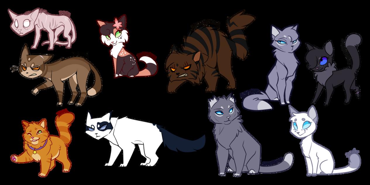 Warrior Cat Designs by DrakynWyrm on DeviantArt