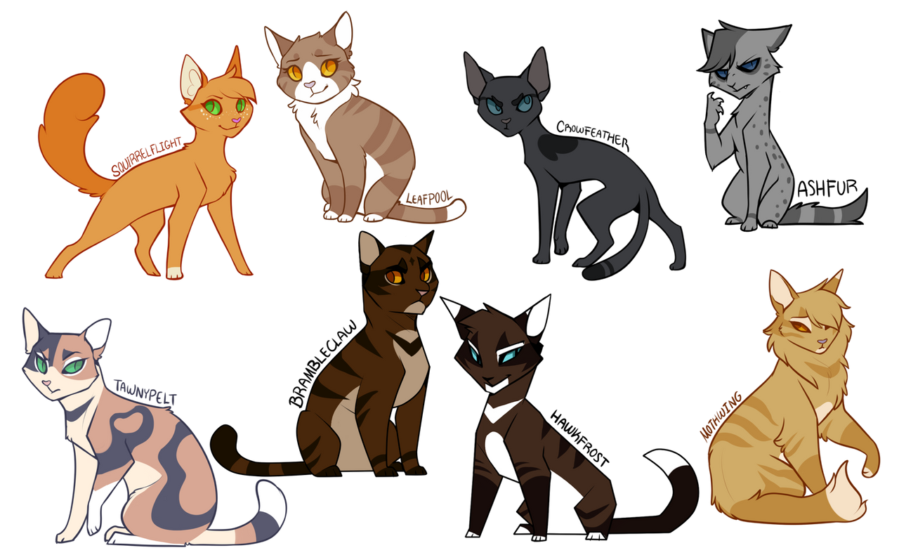 Warrior Cats The Prophecies Begin