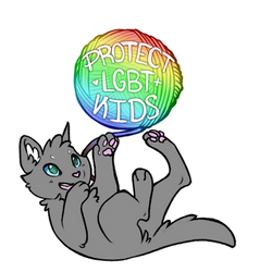 Protect our Queer Kids too ! by DrakynWyrm