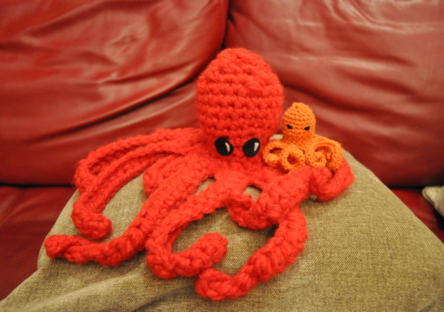Octopus Pattern Crochet Crochet Octopus by Museofwords