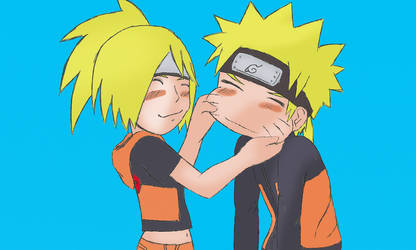 Naruto and Naren Blue