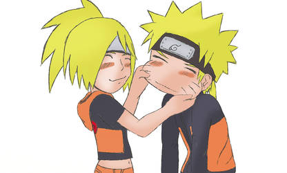 Naruto and Naren White