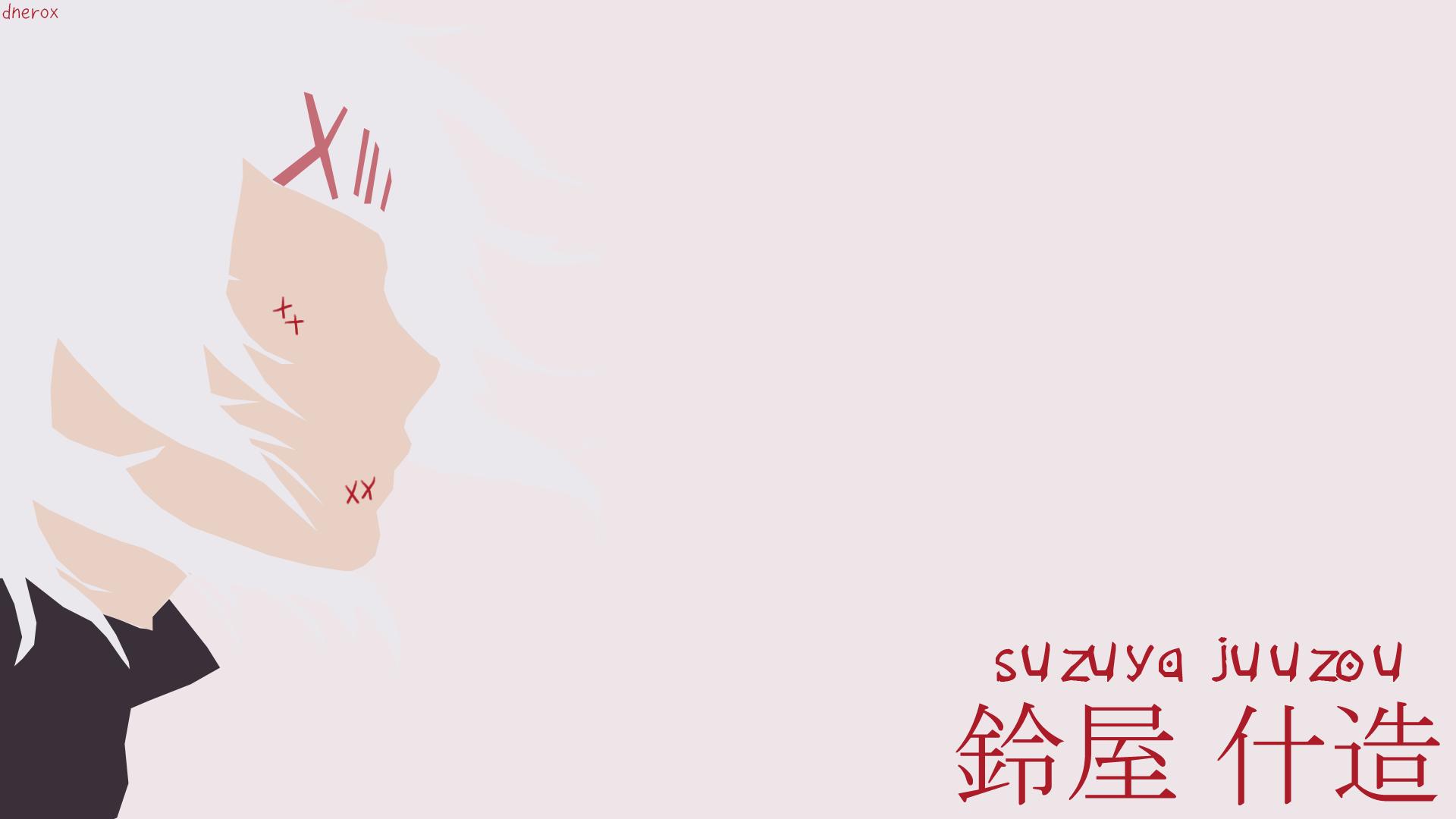 Suzuya Juuzou Minimalist Wallpaper By Dnerox On Deviantart