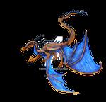Inkmagine Stock Yellow Dragon 2 png