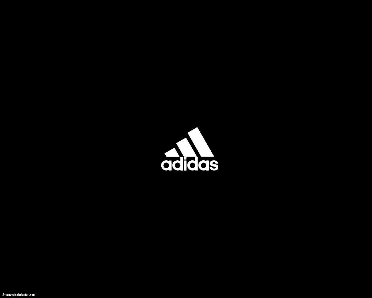 Adidas Logo Black n' White by a-concepts on DeviantArt