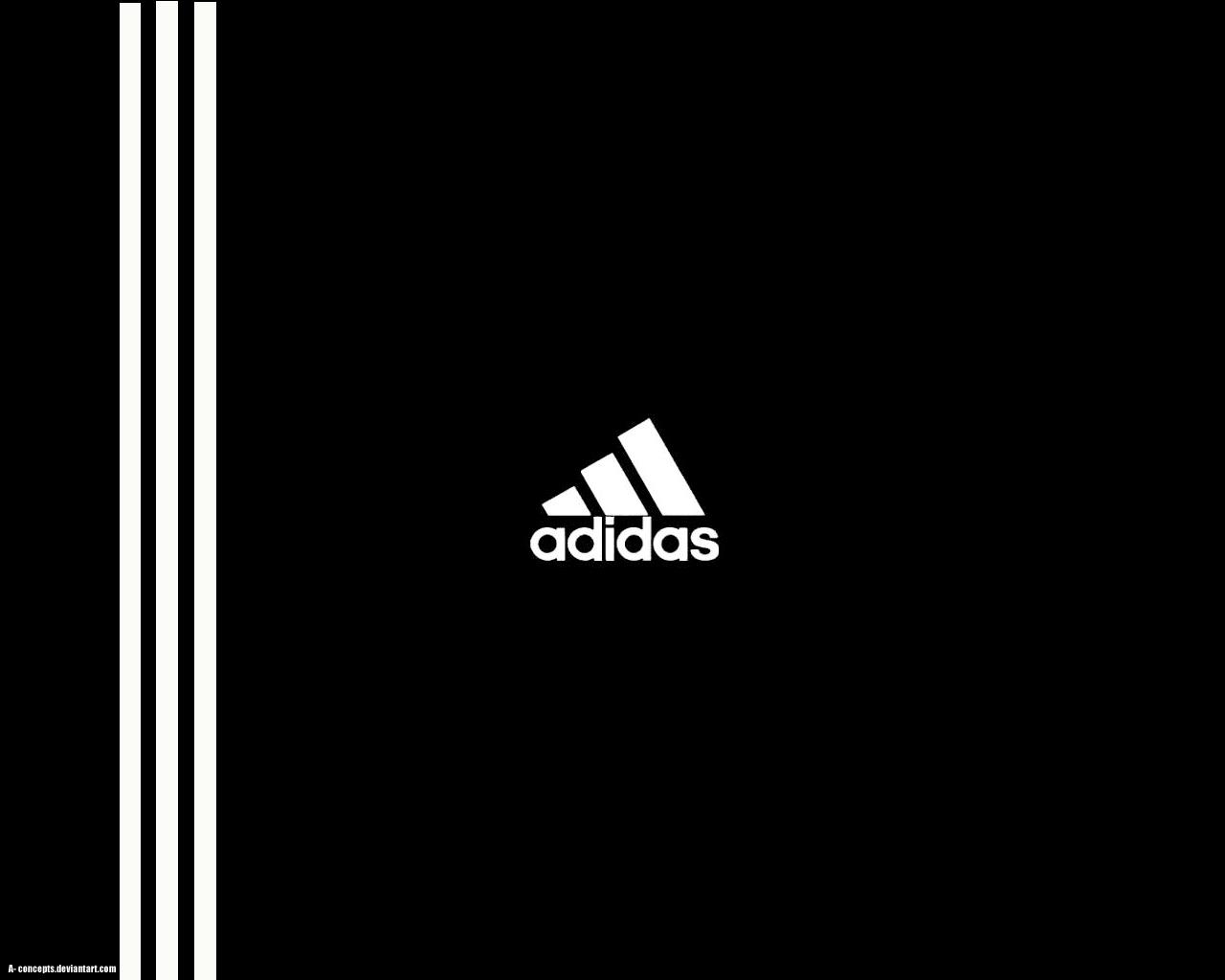 Adidas Logo n' Stripes