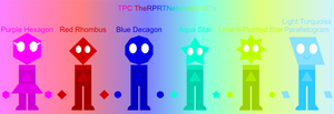 TPC TheRPRTNetwork OCs