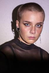 Self-portrait - Fake freckles