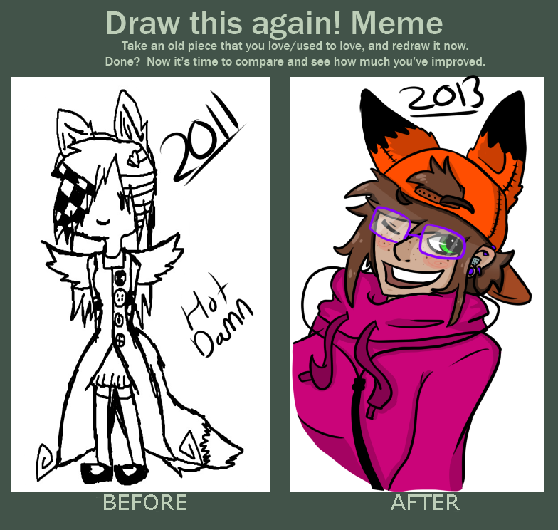 Meme  Before And After by Ask-Nicki-The-Person