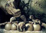 Nido de titanosaurios