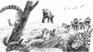 carnivoros del pleistoceno