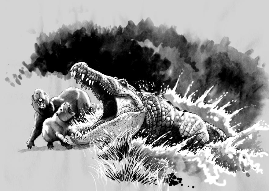 purussaurus  by Gonzal...