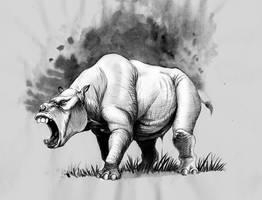 toxodon. by Gonzalezaurus