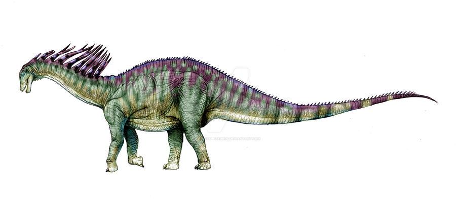 Amargasaurus by Gonzalezaurus