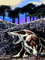 cronopios dentiacutus by Gonzalezaurus