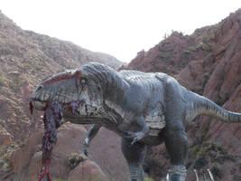 Carcharodontosaurus sanagasta by Gonzalezaurus