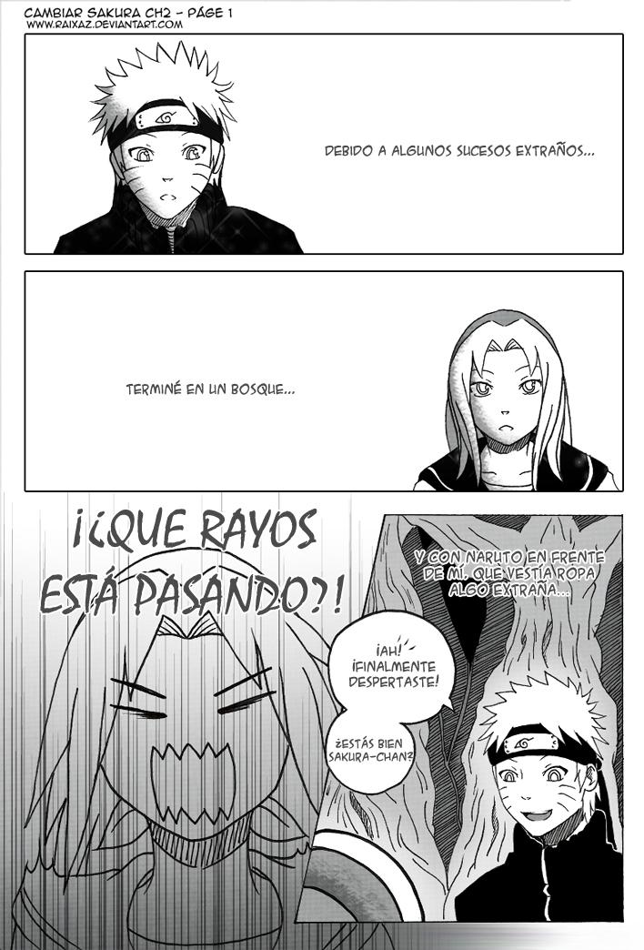 Cambiar Sakura - CH2 Pagina 1 by Raixaz