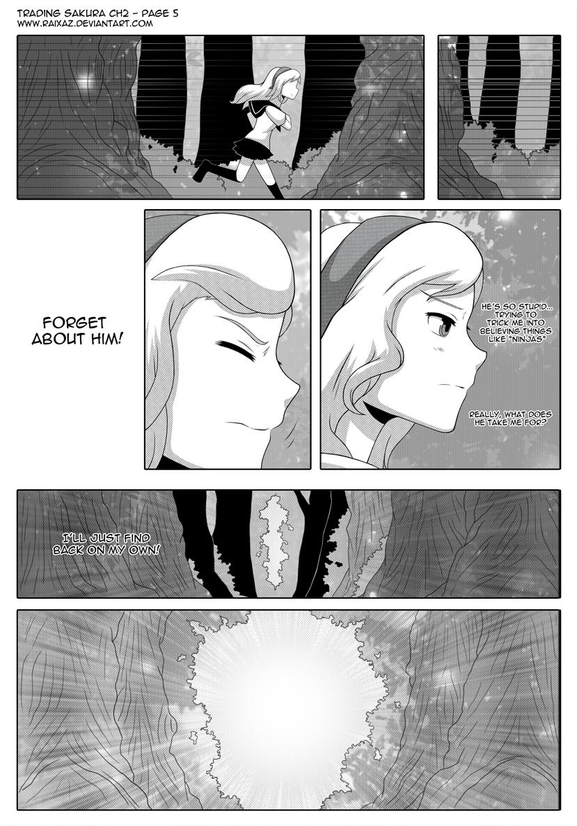 Trading Sakura - CH2 Page 5 by Raixaz