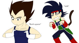 Random Vegeta and Bardock