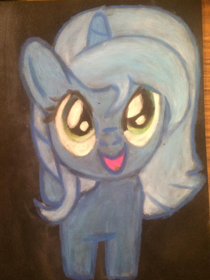 Luna Filly (Foam Fail) by TheArmouredBrony