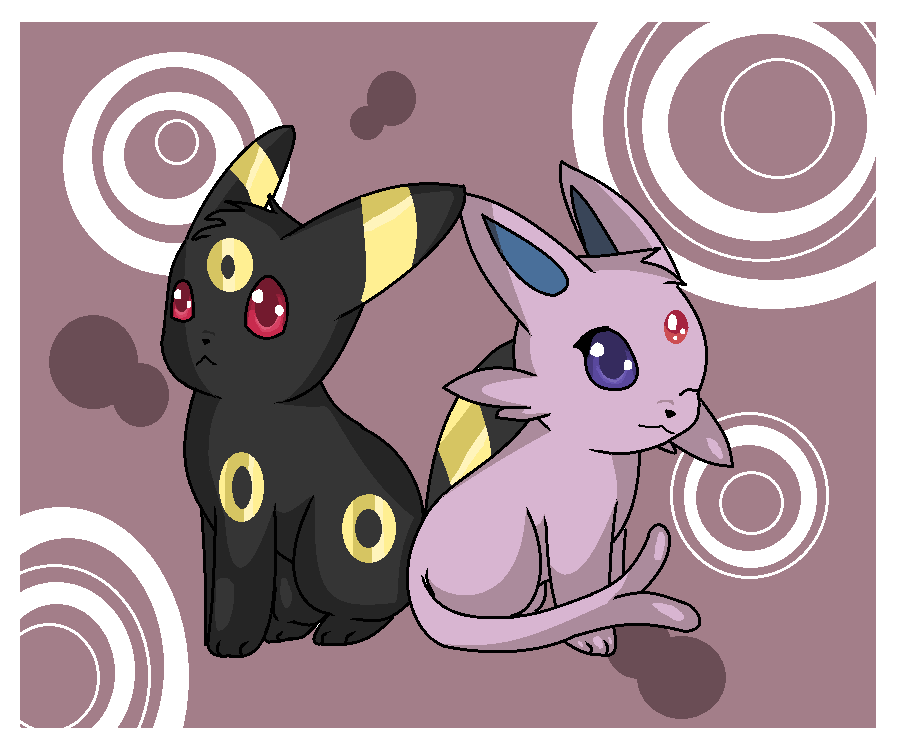 Chibi Espeon And Umbreon by Yummycupcake413Espeon And Umbreon Chibi