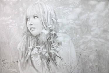 After School Raina Oh Hye Rin by monda123