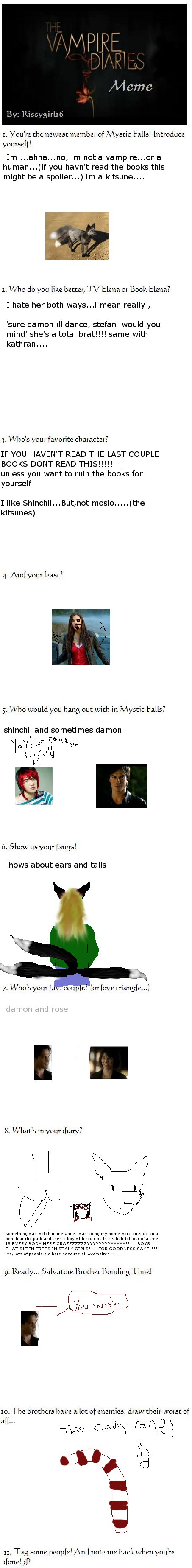 Vampire Diaries Meme By Rissygirl16 On Deviantart