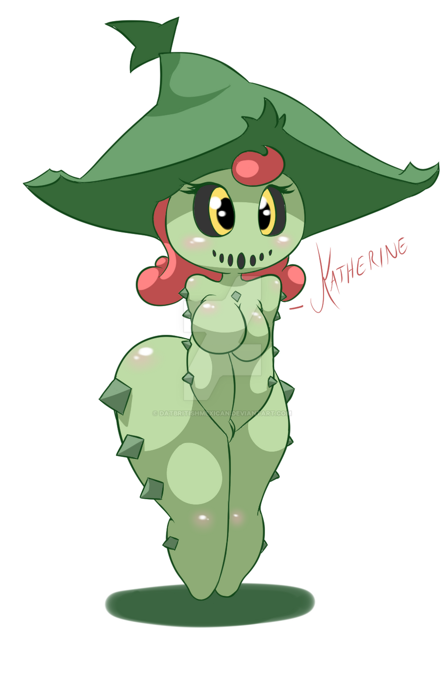 Katherine the Cacturne by DatBritishMexican on DeviantArt