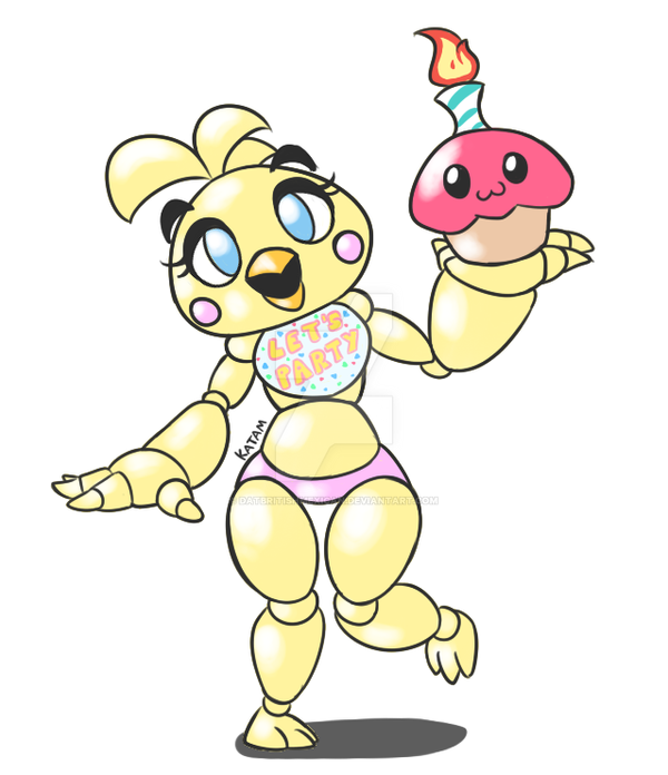 Chica Toy Chica Favourites By Goldenafro On Deviantart: Toy Chica Quicky By DatBritishMexican On DeviantArt