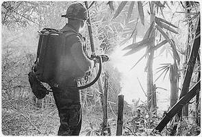 Vietnam War Flamethrower