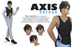 Commission Character Desain Axis by khonko