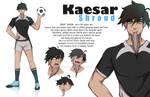 Commission Character Desain kaesar by khonko