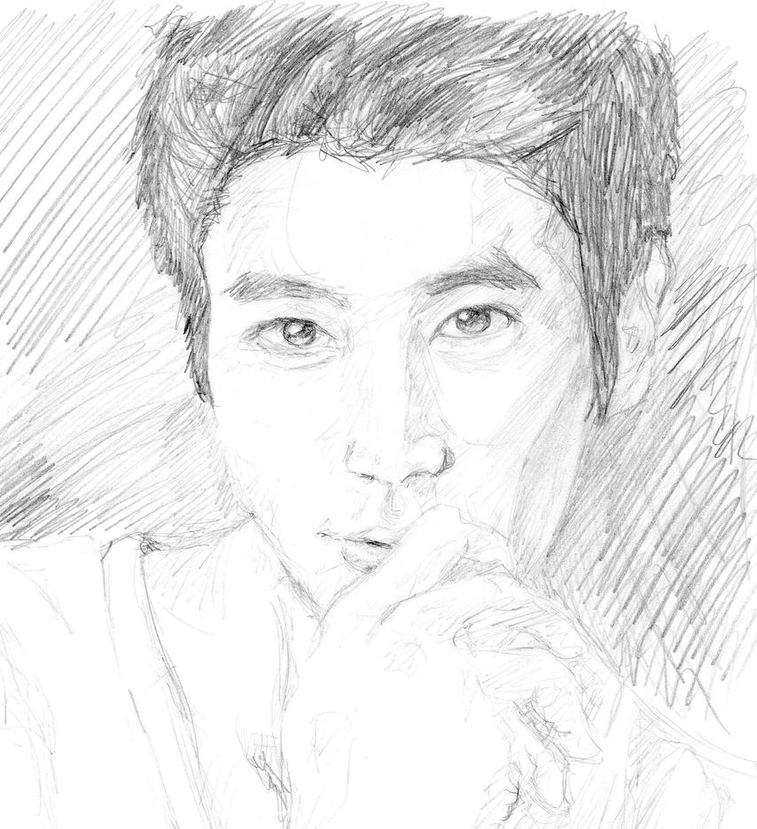Quick Draw 3 : Choi Siwon by CheekyFlower on DeviantArt