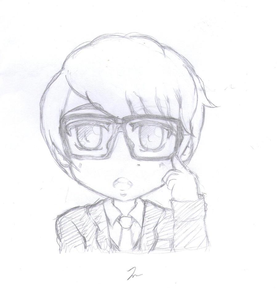 Chibi boy sketch