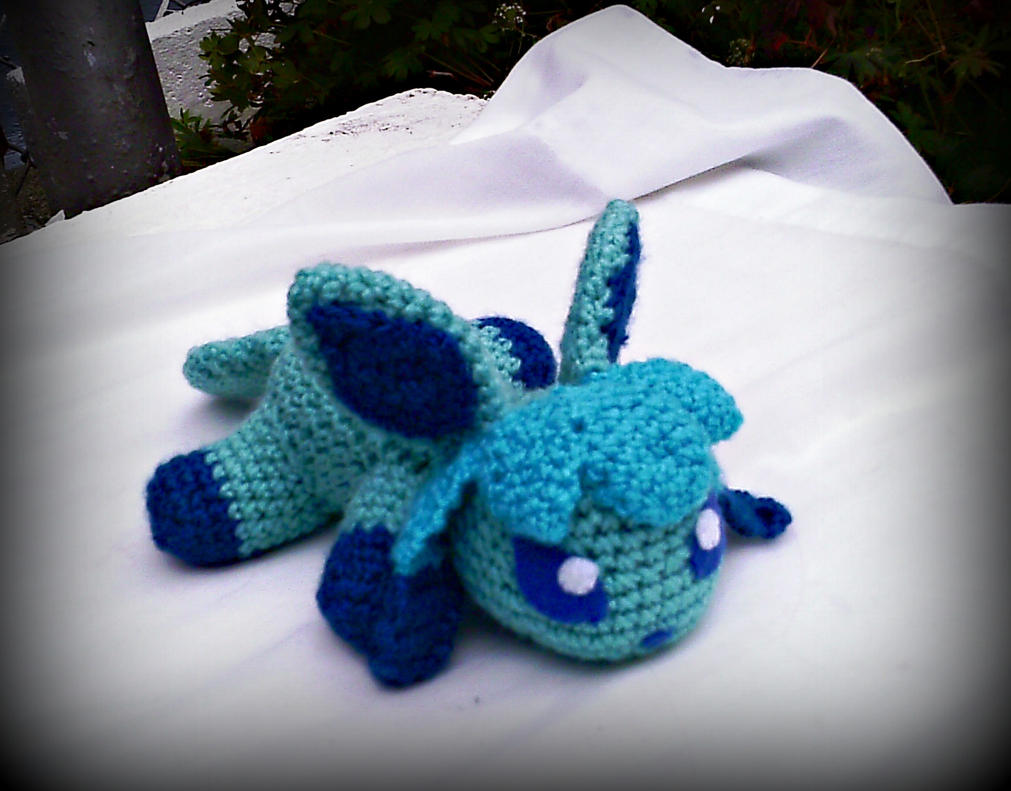 Crocheting Equipment : Arctica the Crochet Glaceon Plush by ArtisansShadow on DeviantArt