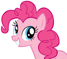 Smiling Pinkie Pie by YourFaithfulStudent