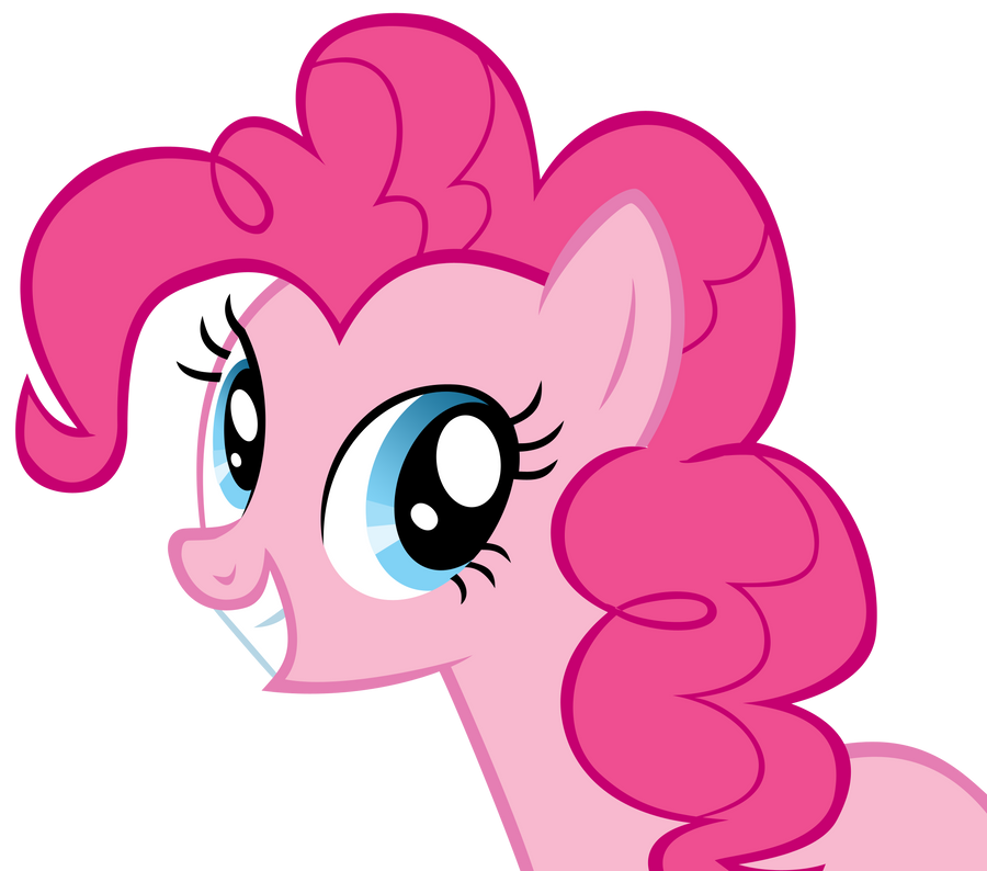 Smiling Pinkie Pie by YourFaithfulStudent on DeviantArt