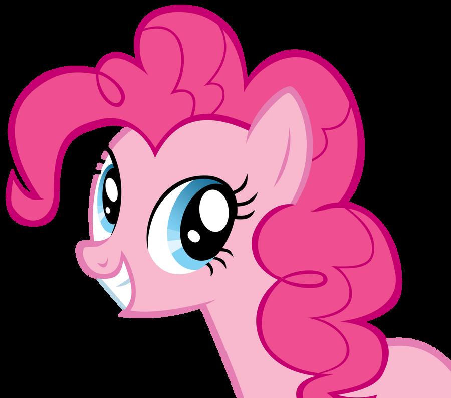 Smiling Pinkie Pie by YourFaithfulStudent on DeviantArt