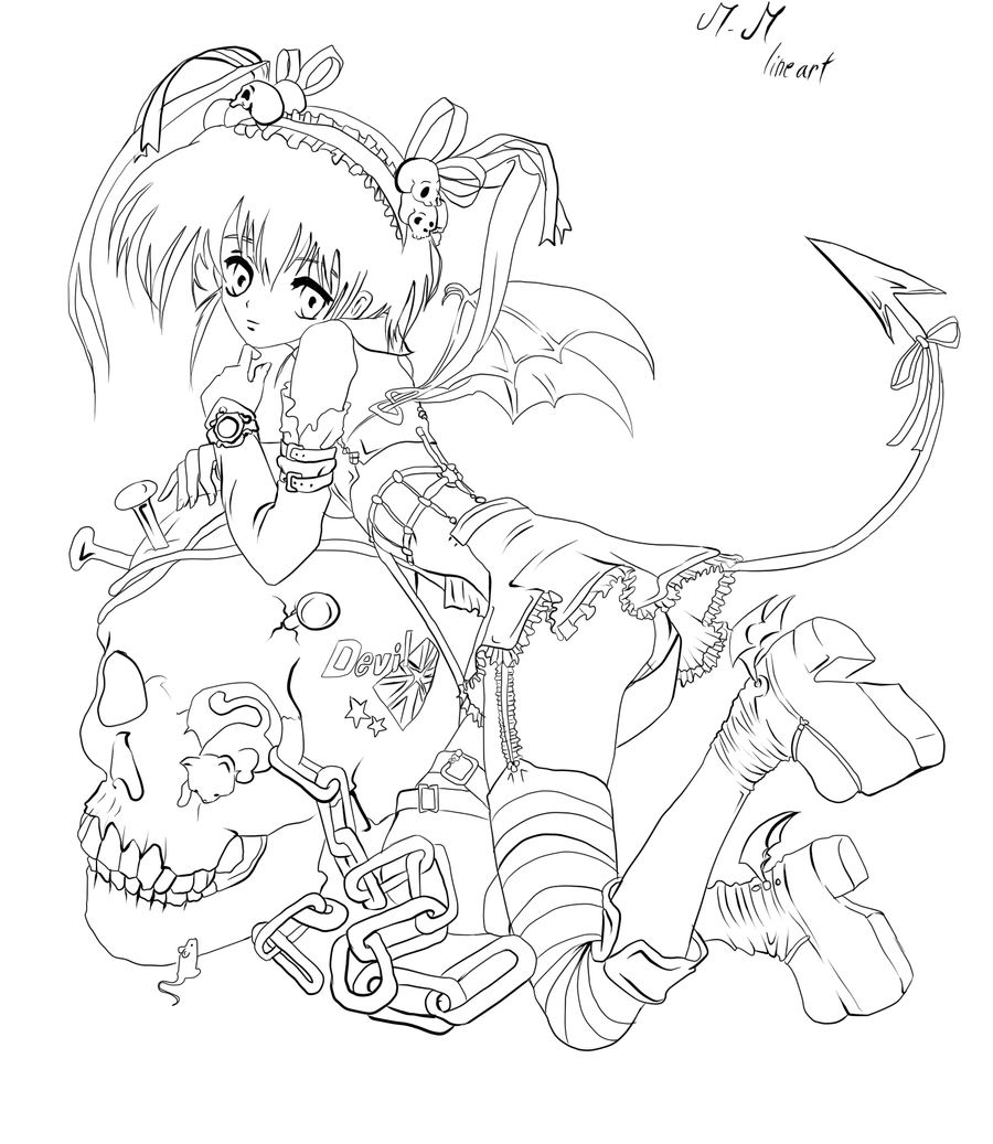 demon dragon coloring pages - photo#34