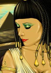 :Cleopatra: by GABRIELAGOGONEA