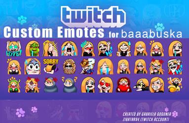Baaabuska emotes