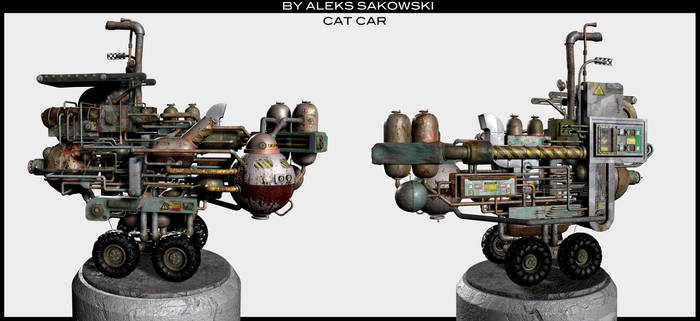 CAT CAR 3D