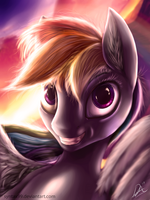 Rainbow Hors by SyntaXartz