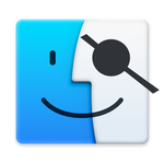 Hackint0sh Finder icon (Yosemite)