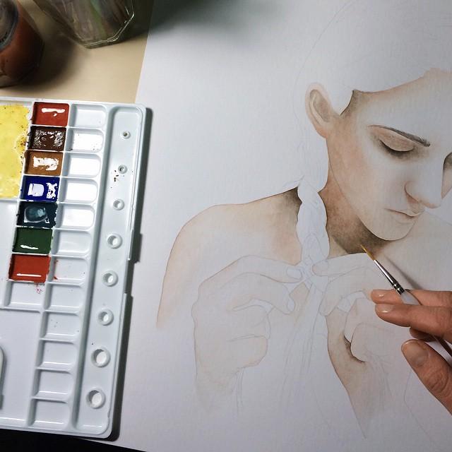 Work in progress \\ by AirelavArt