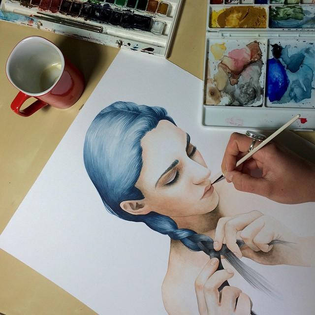 Work in progress \\ (Part II) by AirelavArt