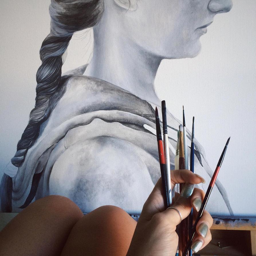 In progress pt.1 by AirelavArt