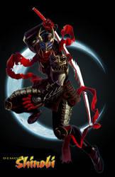 Demon Shinobi by dylanliwanag