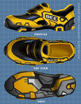 Bumblebee-inspired shoes