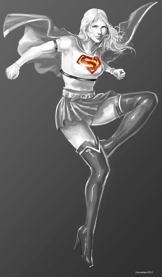 Supergirl by dylanliwanag